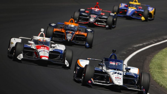 Sato wins a second Indy 500 title