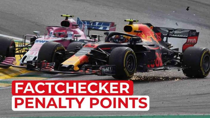 Zo werkt het strafpuntensysteem in de Formule 1