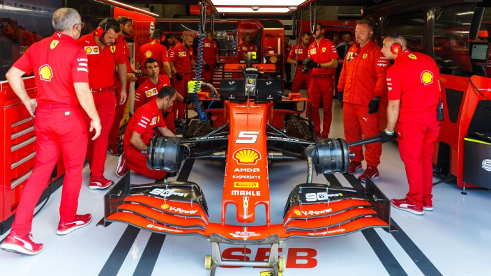 """Ferrari willing """"to break a sub-bubble"""" if needs must during an F1 weekend"""