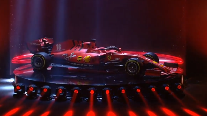 First look at Ferrari's new car for the 2020 season