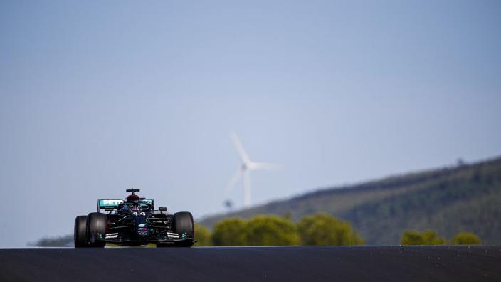 Kwalificatie Grand Prix Portugal: Hamilton pakt pole na zinderende slotfase