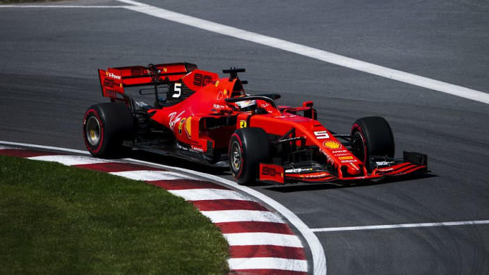Vettel snatches Canada pole from Hamilton