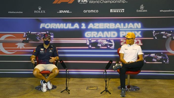"""Norris - """"It's about time"""" Perez jumped me in F1 championship standings"""