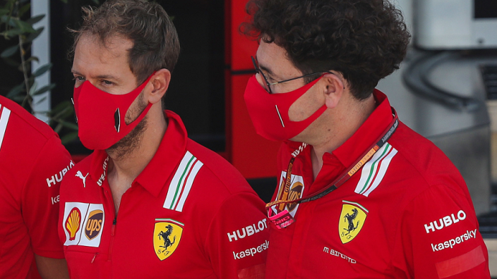 "Binotto hopes ""important"" podium will help Vettel end Ferrari career on a high"
