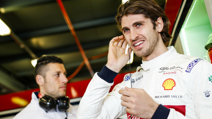 Giovinazzi follows in Hamilton, Schumacher, Vettel and more's footsteps
