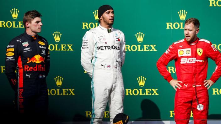 Hamilton: 'Sommige overwinningen waren geluk'