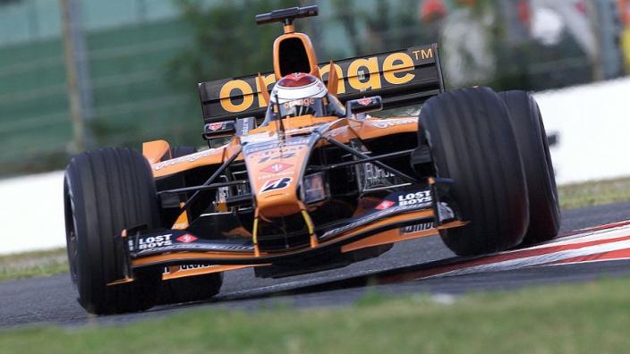 Oude Formule 1-auto van Jos Verstappen te koop