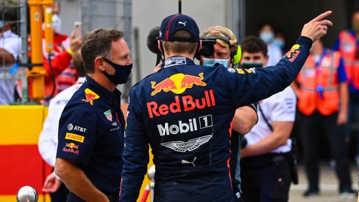 """Horner ontkent eventueel vertrek Verstappen: """"Heb een goed gesprek met Max gehad"""""""