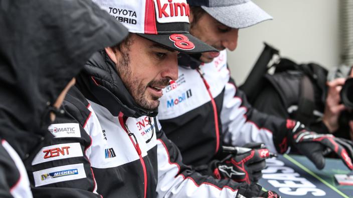 Alonso wint met zijn team de zes uur van Spa