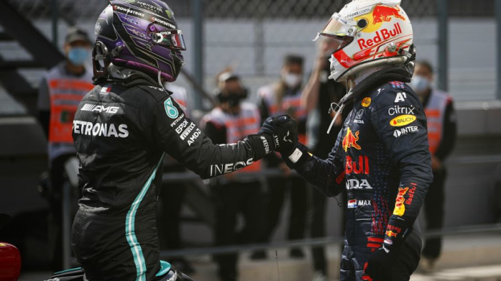 Hamilton and Verstappen F1 title fears keeping fight clean - Wolff