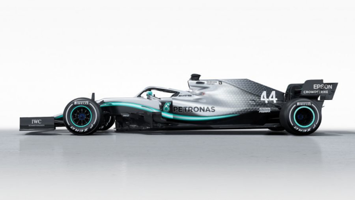 VIDEO: Hamilton drives 2019 Mercedes F1 car for first time