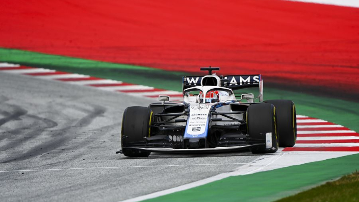"Williams ""surprise"" Russell's gravel trip ""wasn't a lap-ruining mistake"""