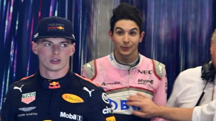 """Ricciardo: """"Ocon is in sommige opzichten vergelijkbaar met Verstappen"""""""