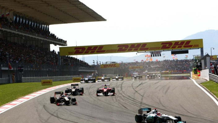 Formula One confirms revised 17-race schedule ending on December 13