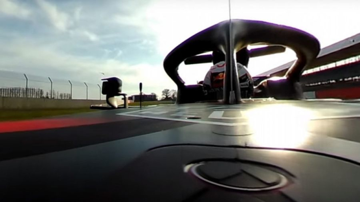 VIDEO Verstappen's first taste of new Red Bull - in 360 degrees!