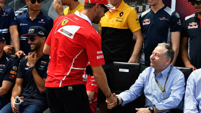 "Vettel lauded as a ""good"" future president of the FIA"