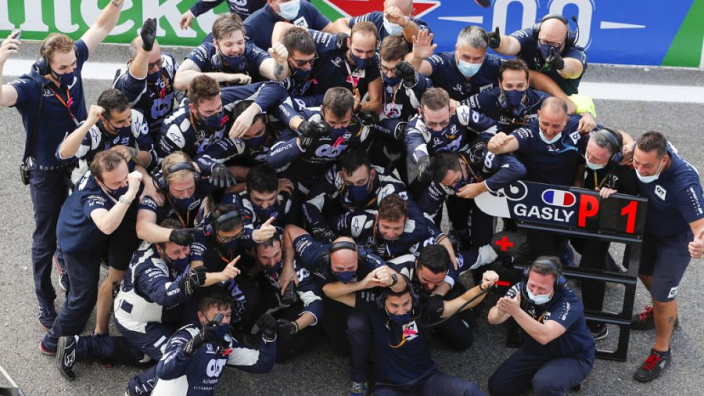 """Gasly has """"no words"""" after stunning Italian Grand Prix victory"""