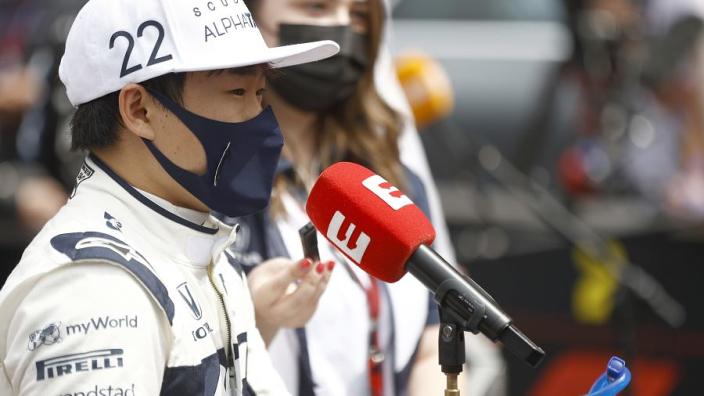 """Tost over Tsunoda: """"Zijn snelheid in de race was soms echt ongelofelijk"""""""