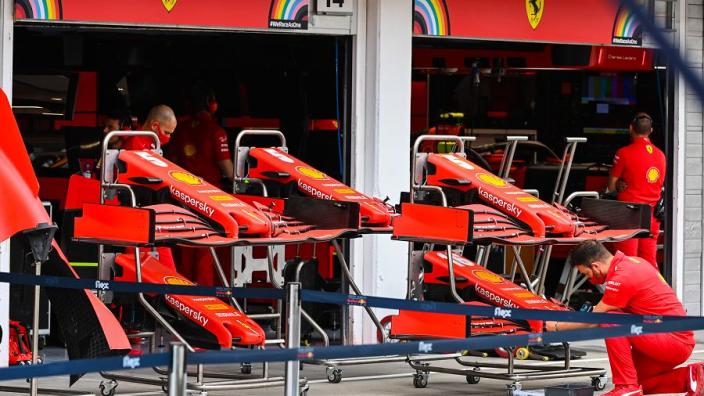 Upgraded Ferrari 'not a game-changer' - Vettel