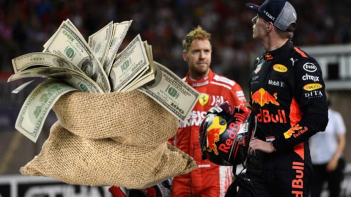 Formula 1 driver salaries 2019