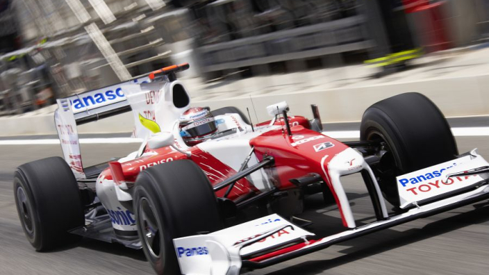 Toyota Formula 1 car set to be auctioned