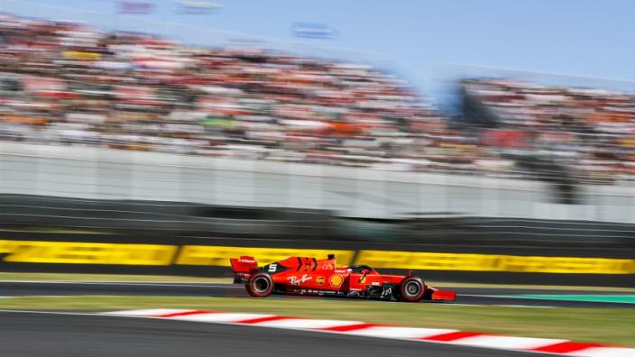 Kwalificatie GP Japan: Ferrari weer dominant, Verstappen vijfde