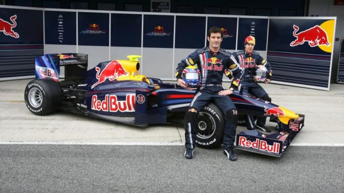 Vandaag tien jaar geleden: Red Bull onthult de RB5