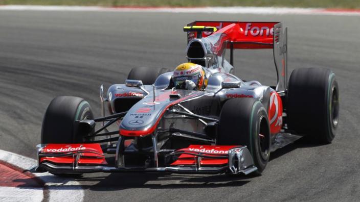 Hamilton 2010 McLaren set to raise up to $7m in world first at British GP auction