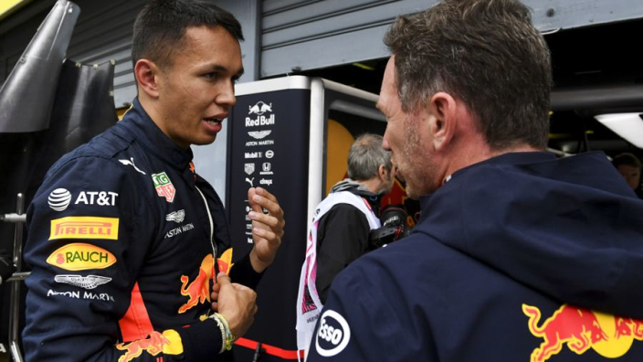 Red Bull - 'The whole team wanted Albon to race this year' - Horner