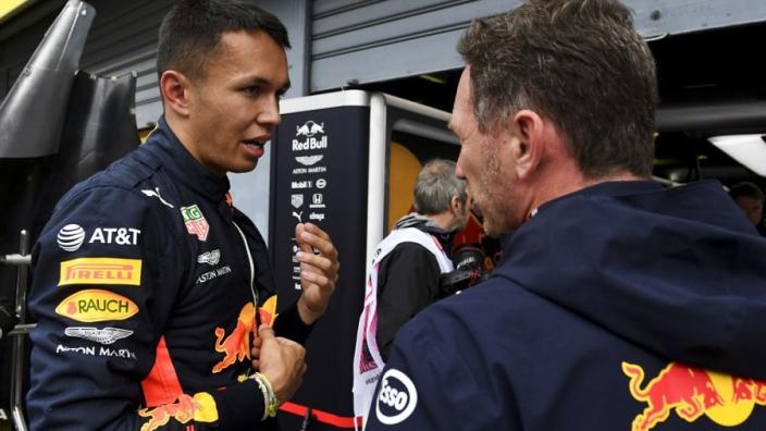 Albon: 'Eerder besluit van Red Bull had geen verschil gemaakt'