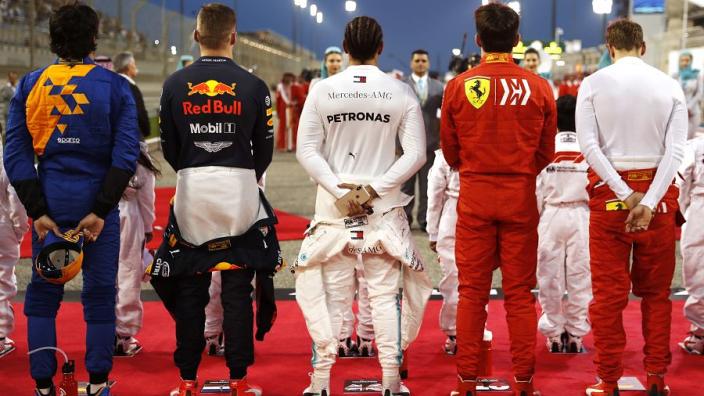 """Leclerc: """"Was in eerste instantie wat geïntimideerd door Vettel"""""""
