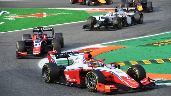 Nederlander Bent Viscaal pakt eerste podium in Formule 2