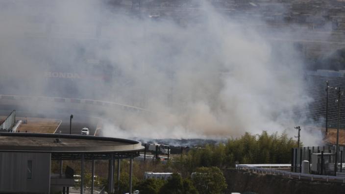 Circuit van Suzuka stond in lichterlaaie, brand lijkt te zijn geblust