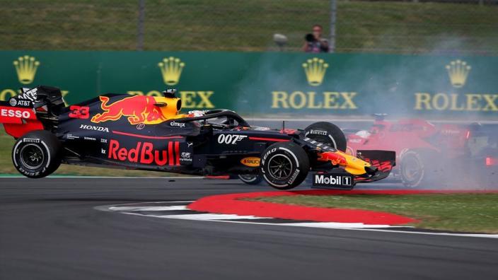 Red Bull point finger at Vettel over Verstappen crash