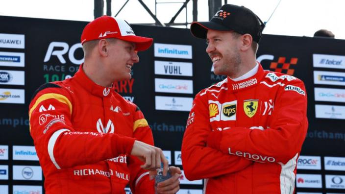 Vettel won't give Schumacher driving tips