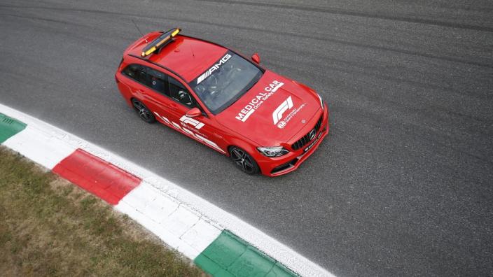 Waarom de Medical Car niet de baan op kwam na crash Hamilton en Verstappen