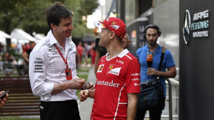 Wolff leaps to defence of Vettel