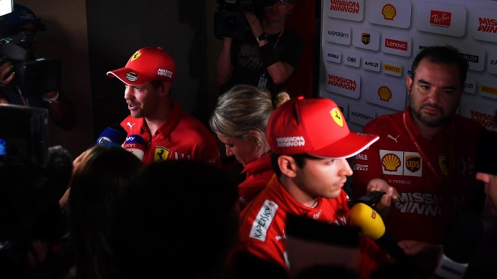 Leclerc emerges as Ferrari's 'champion' to leave Vettel on borrowed time