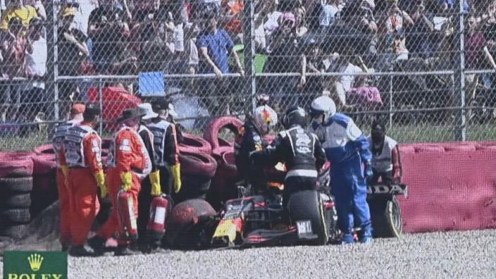 Hamilton escapes further stewards' punishment after Verstappen crash