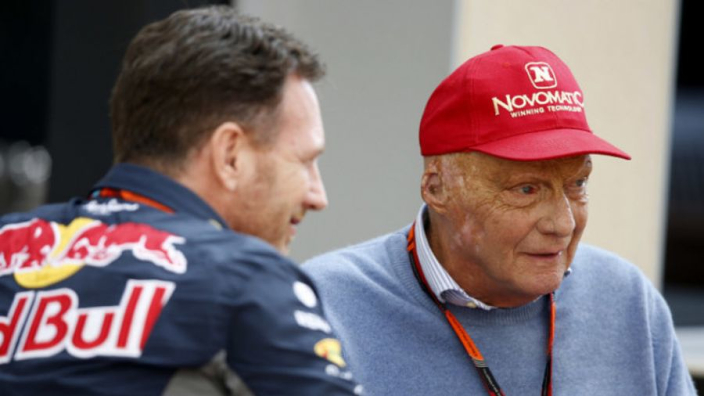 """Horner: """"Mercedes is zwakker zonder Lauda"""""""