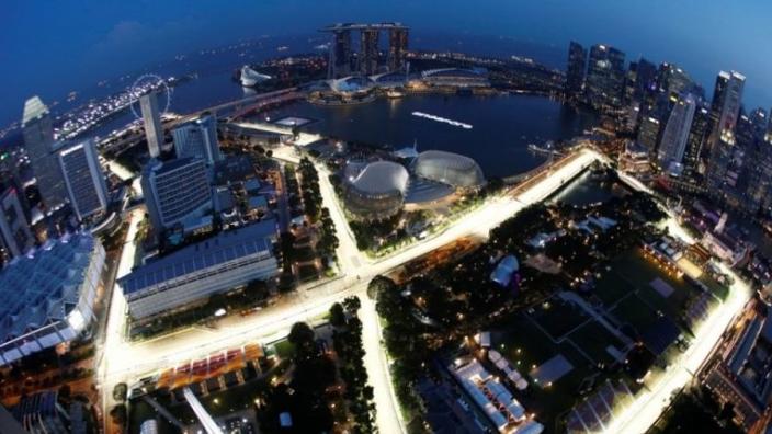Formule 1 test succesvol met 360-graden camera tijdens Grand Prix van Singapore