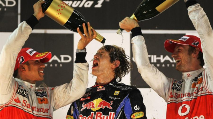 VIDEO: Vettel sets title record with Abu Dhabi win - F1 on this day