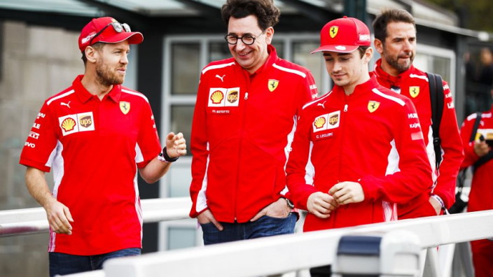 Binotto sets Ferrari points target for end of 2019