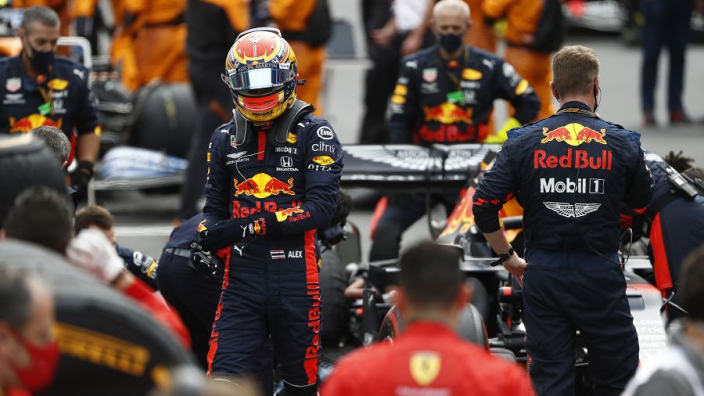 """Big-name rivals """"don't matter"""" to Albon as Red Bull widens driver options"""