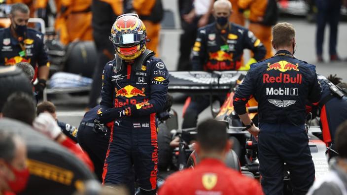 """Van de Grint: """"Red Bull is allang bezig met vervanger Albon"""""""
