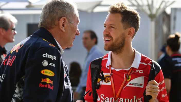 Red Bull not interested in Vettel reunion