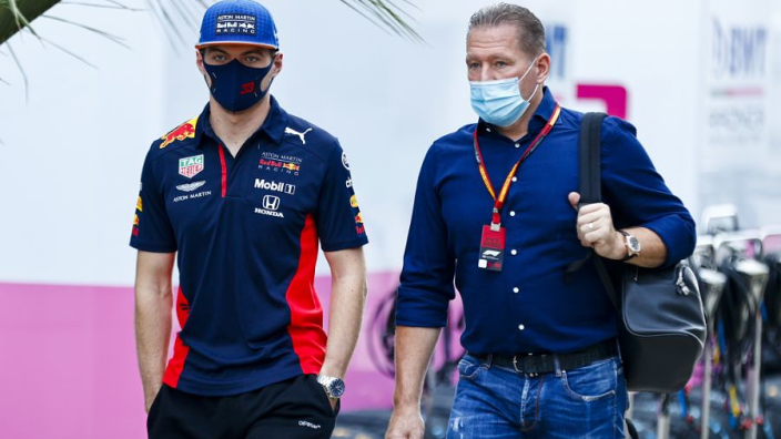 """I prefer my head falls off"" - Verstappen dismisses neck padding after jibe from father"