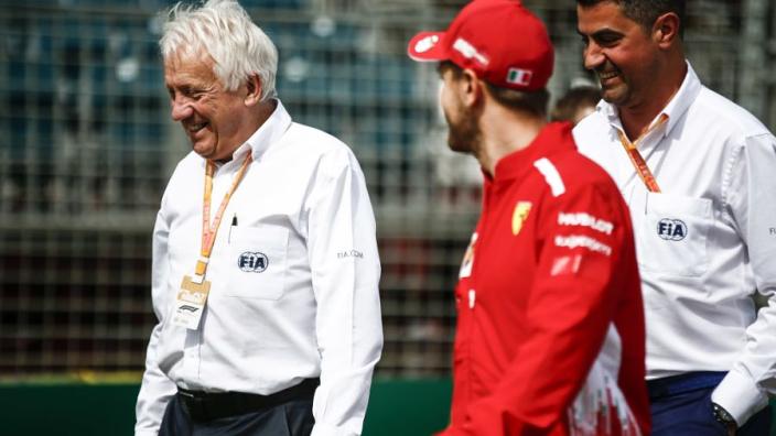 Fotogallerij: Charlie Whiting's jaren in de Formule 1