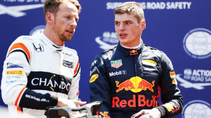 """Button somt op: """"Hamilton, Alonso, Schumacher, maar ook Verstappen"""""""