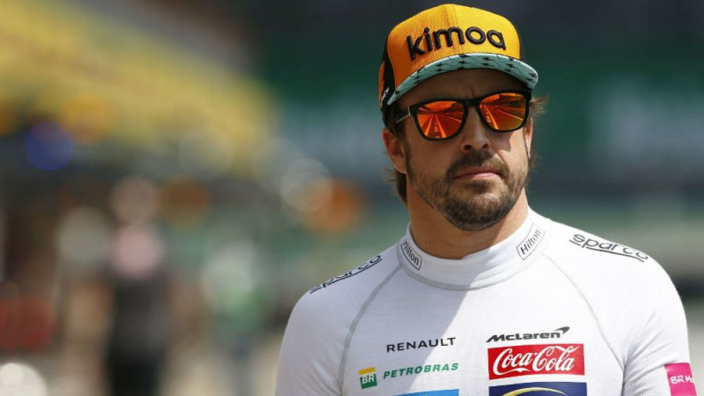 Alonso set for pre-season McLaren test